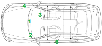Volvo Cars VIN Number Locations Vehicle Chassis
