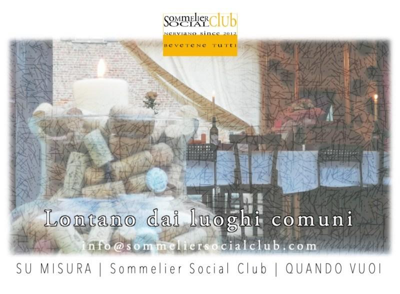 SoSoClub su Misura, Sommelier Social Club
