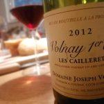 Volnay 1er Cru Les Caillerets 2012, Domaine Joseph Voillot