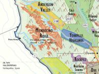 California Wine Country Map