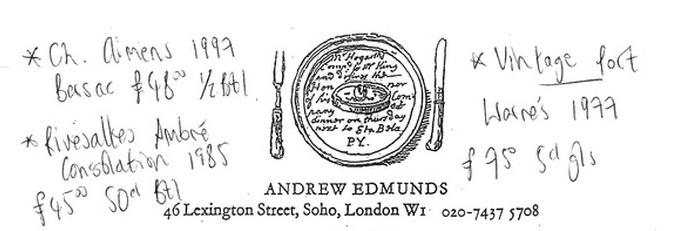 Andrew Edmunds