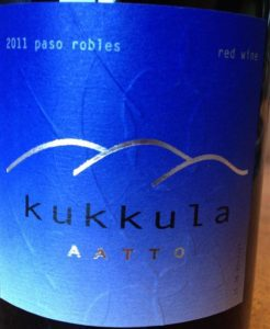 "Kukkula 2012 ""Aatto"" Red Blend, Paso Robles"