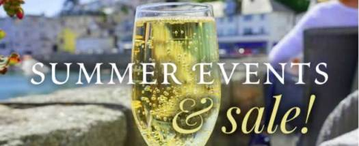 Summer Events and Sale