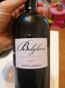 bottiglia bolgheri tenuta moraia pietracupa 2014