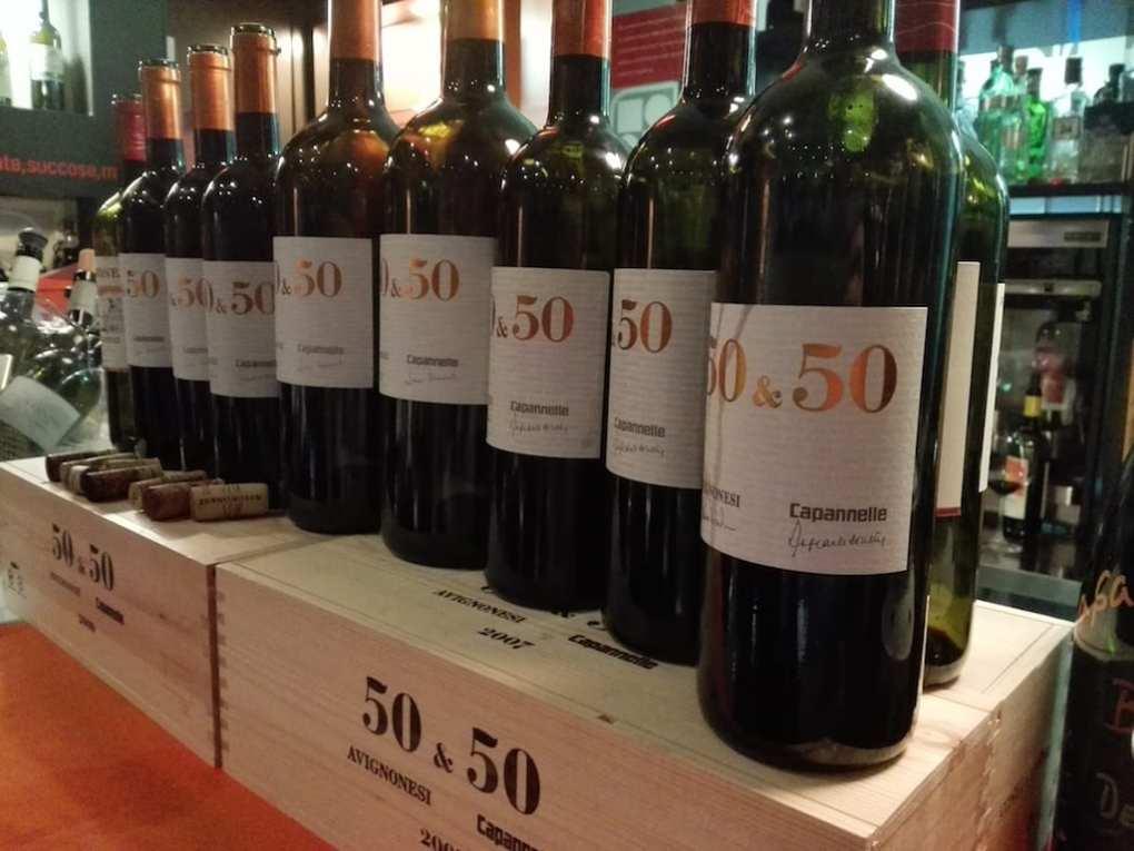 Avignonesi 50&50 degustazione