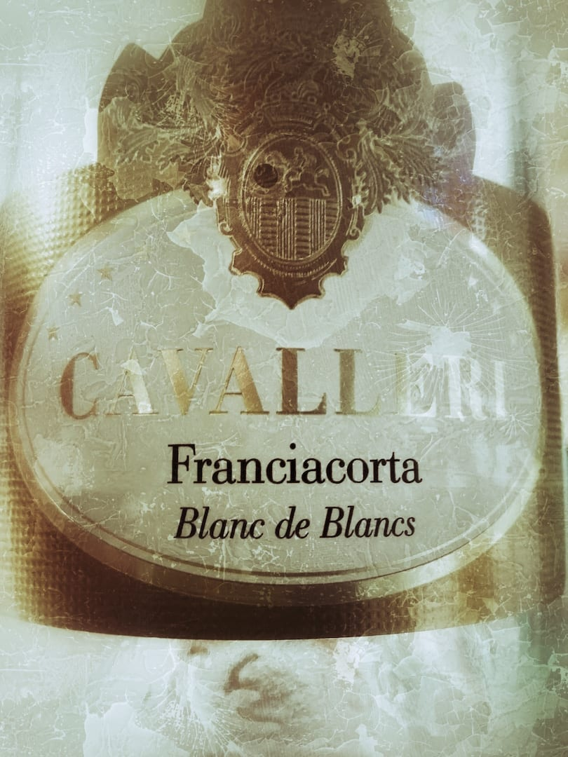 Etichetta Franciacorta Cavalleri Blanc de Blancs