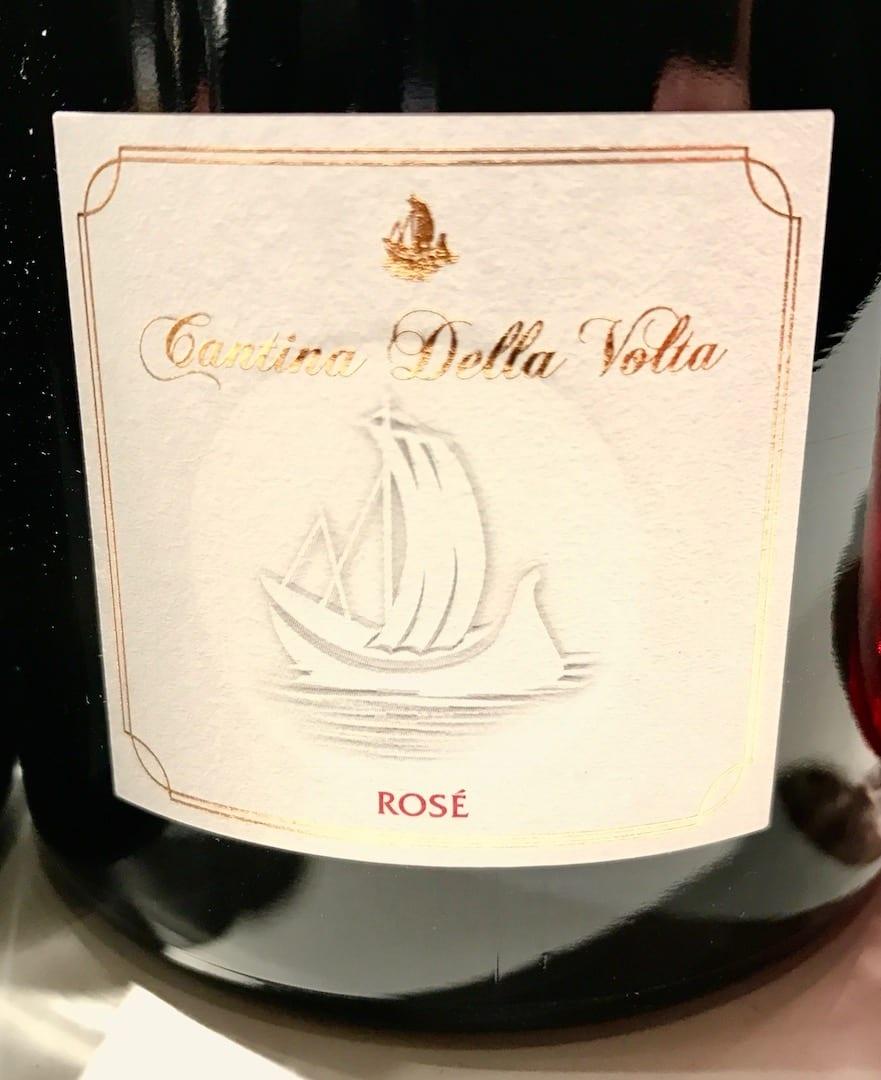 cantina della volta rosè a Vinoè 2016