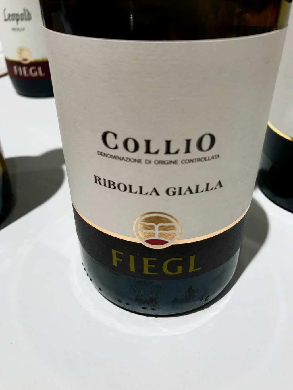 Fiegl Ribolla Gialla 2015 a Vinoè 2016