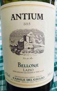 Casale del Giglio Bellone Antium 2015