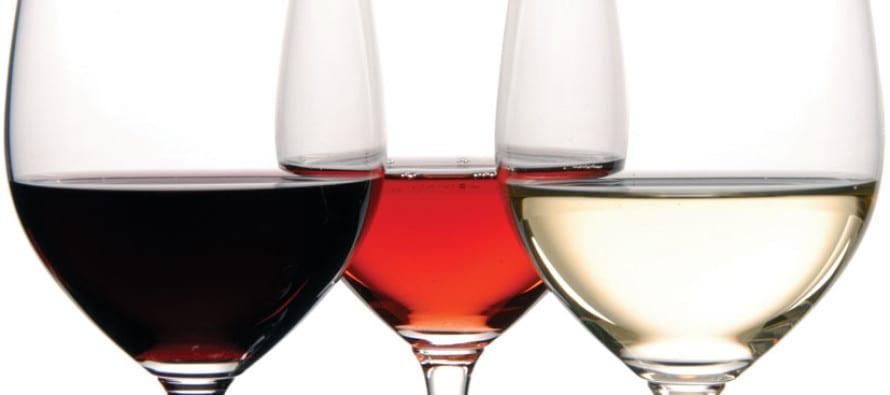 degustazione alla cieca di rosso, bianco e rosè