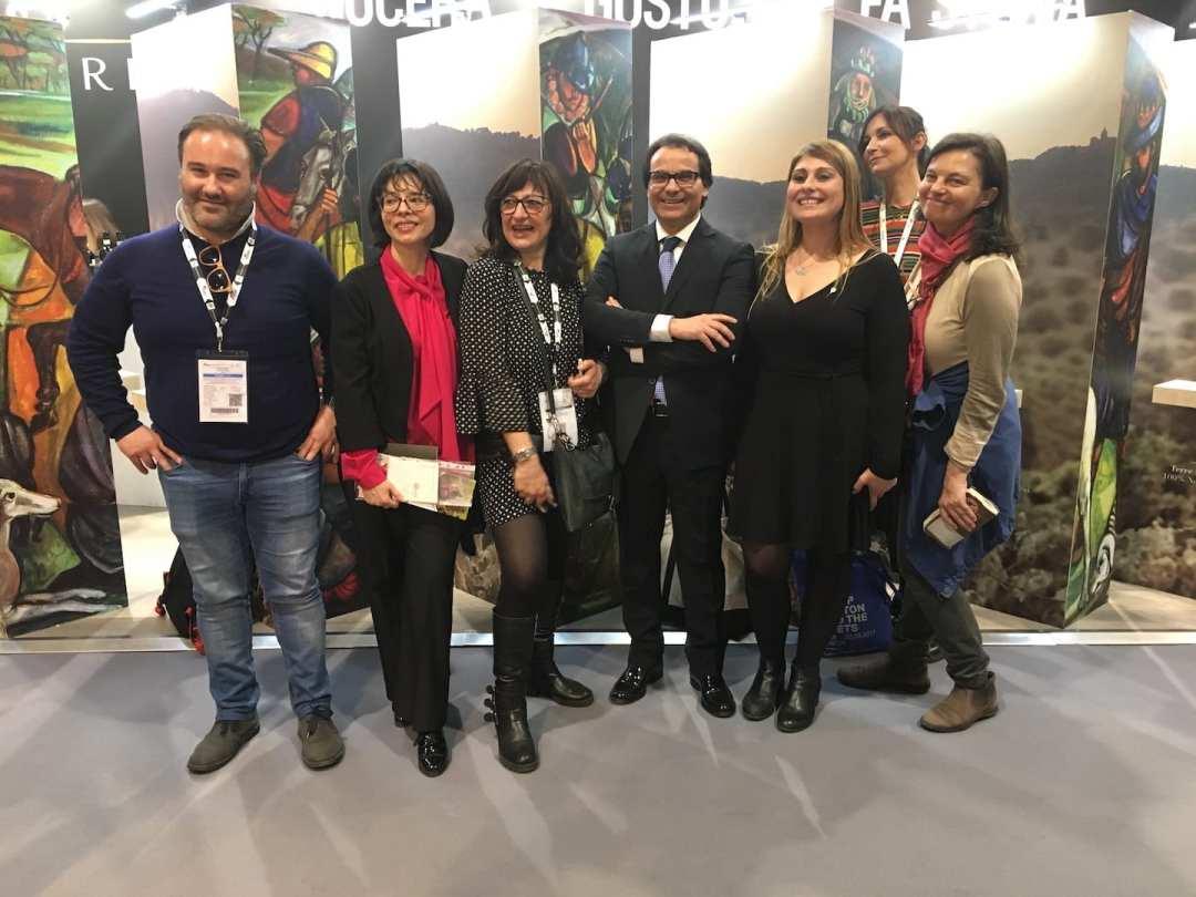 Foto ricordo Cambria al Vinitaly 2018