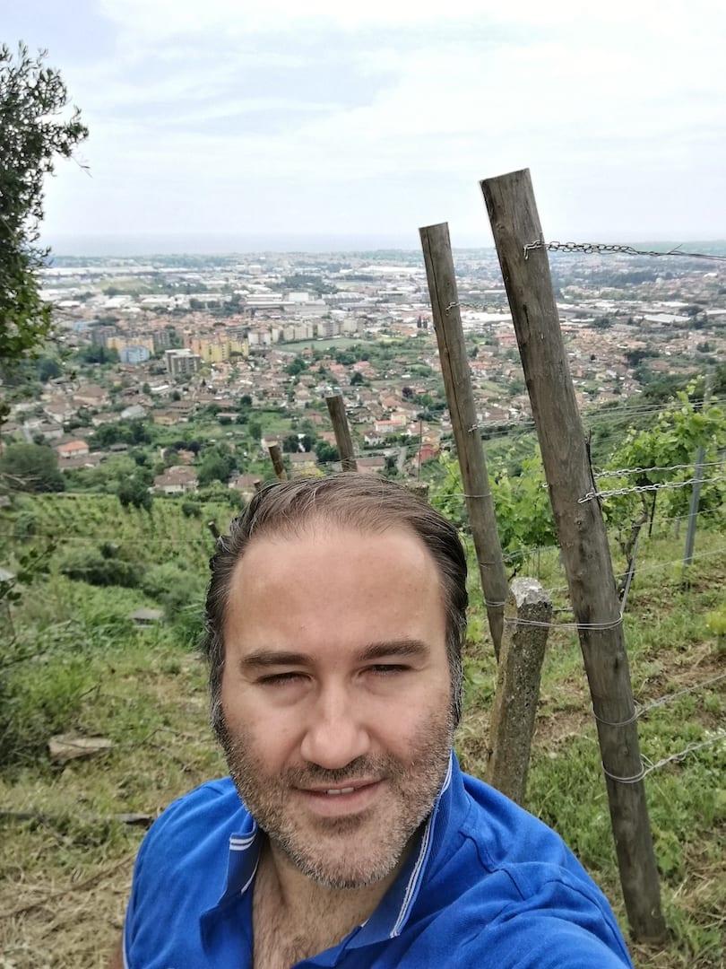 Selfie tra le vigne di Marco Verona