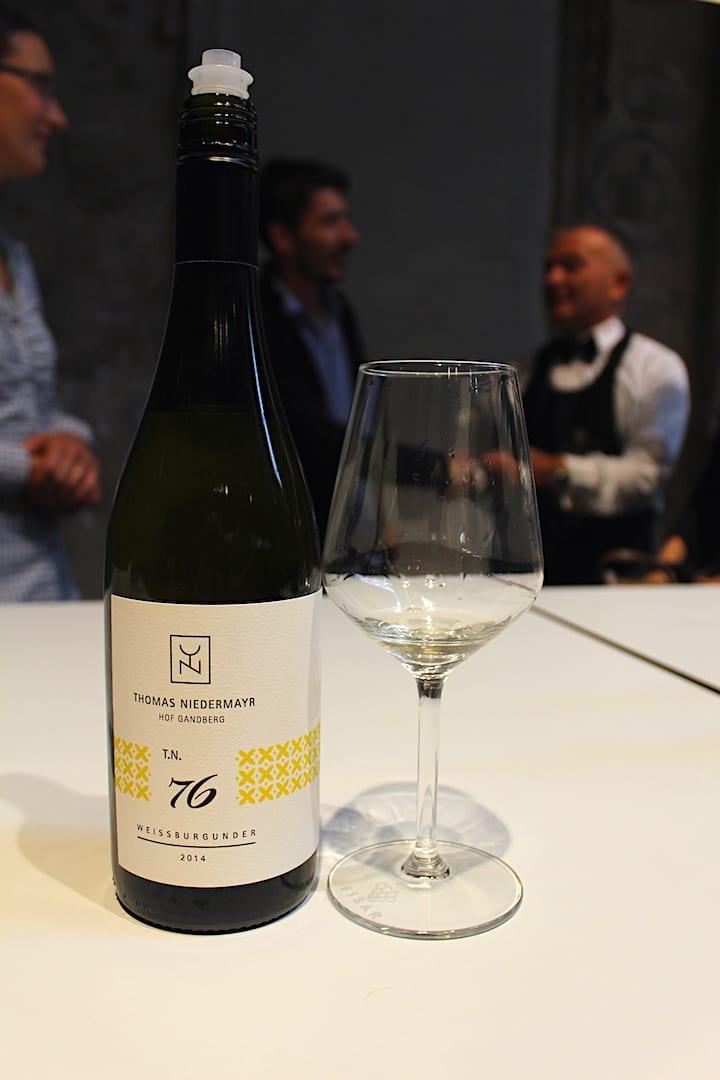 Pinot Grigio di Thomas Niedermayr a Vinoè 2018