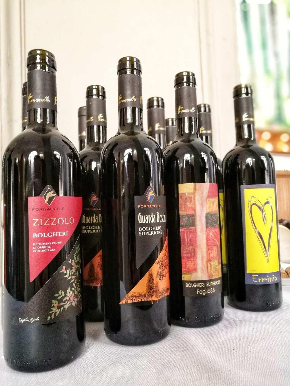 Vini rossi di Fornacelle