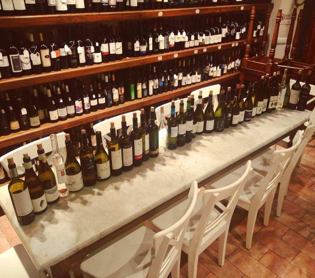 Vini greci alla Divina Enoteca di Firenze