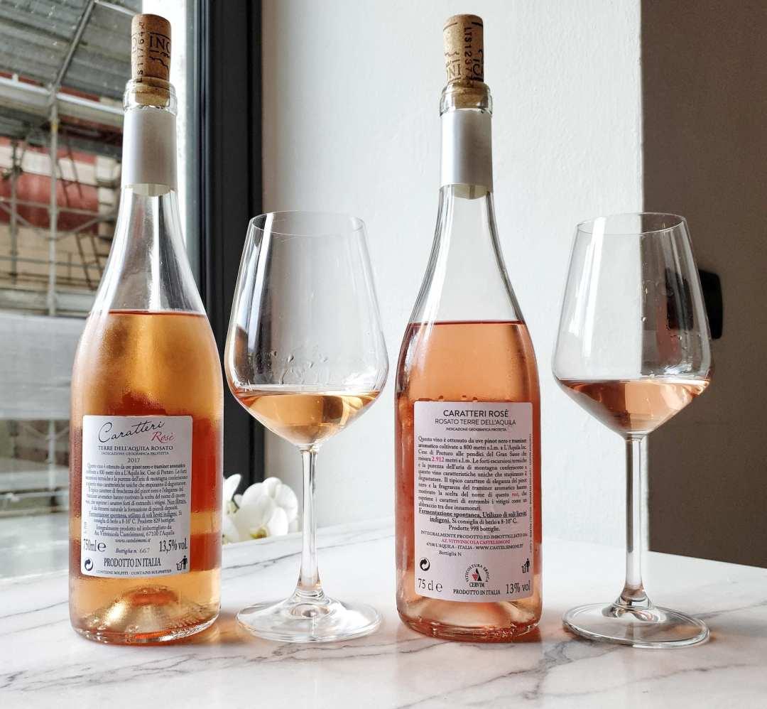 Il vino rosato di Castelsimoni si chiama Caratteri Rosè