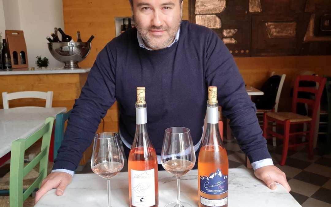 Degustazione vino rosato Caratteri Rosè di Castelsimoni