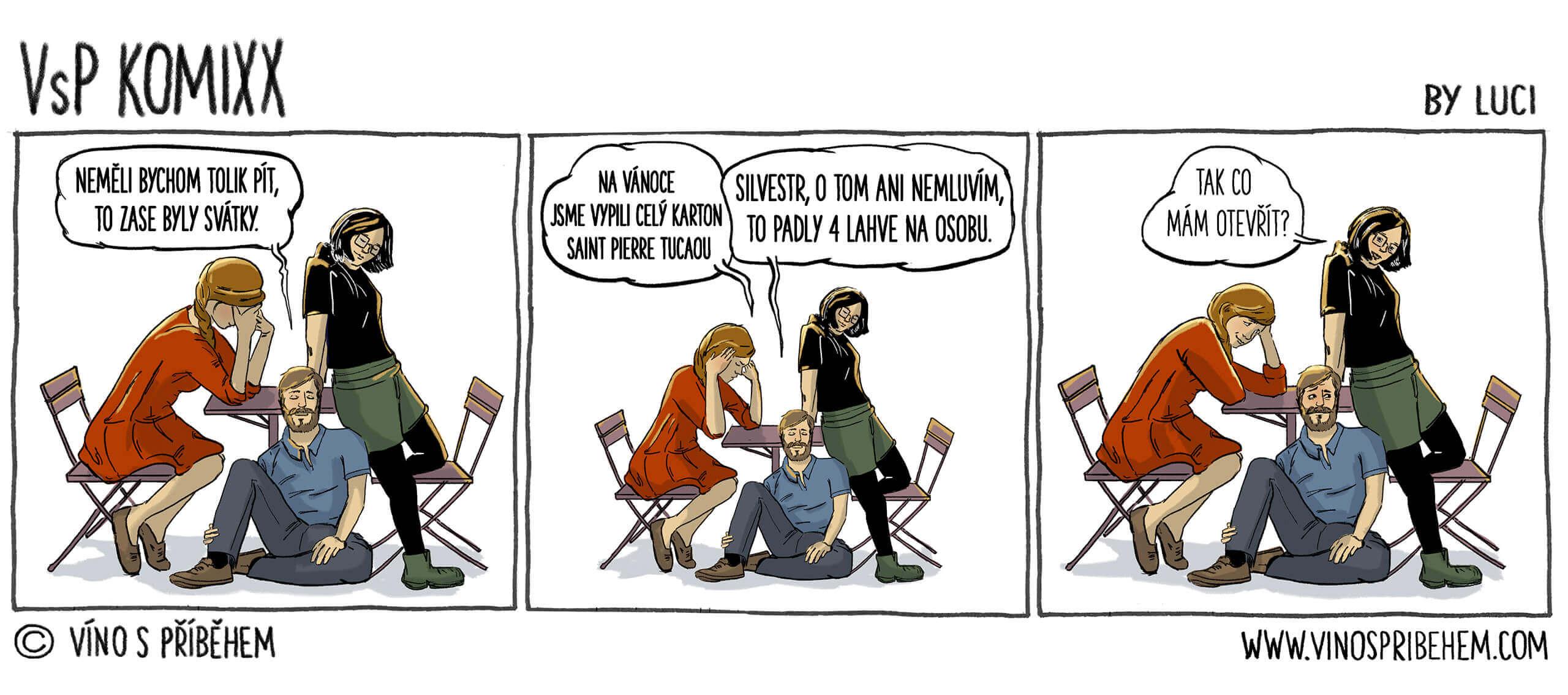 Komiks nejen o víně