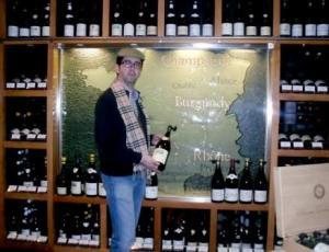 En la sala dedicada a los vinos franceses