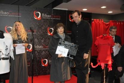Jordi Vidal recogiendo el premio