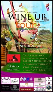 Wine Up Tour en Lalola Restaurante de Valencia