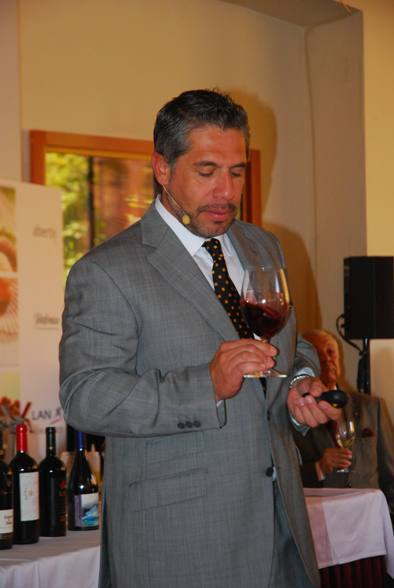 Pancho Campo, Master of Wine