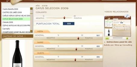 CAYUS SELECCION 2009 - 88 PUNTOS EN WWW.ECATAS.COM POR JOAQUIN PARRA WINE UP