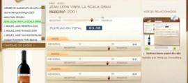JEAN LEON VINYA LA SCALA GRAN RESERVA 2001 - 93.38 PUNTOS EN WWW.ECATAS.COM POR JOAQUIN PARRA WINE UP