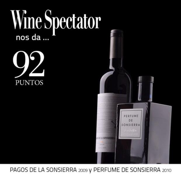 Perfume de Sonsierra y Pagos de la Sonsierra-92 puntos