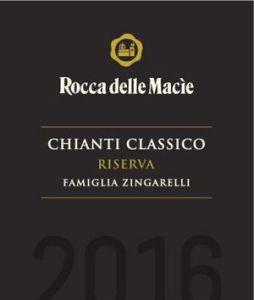 Chianti Classico Riserva Famiglia Zingarelli 2016