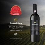 Tre Bicchieri 2020 al Chianti Classico Riserva Famiglia Zingarelli 2016