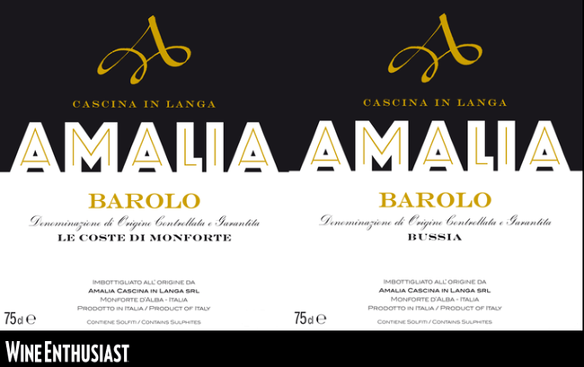 Amalia Cascina in Langa su Wine Enthusiast