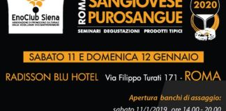 Sangiovese Purossangue a Roma 2020