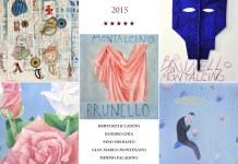 Piastrella celebrativa Brunello di Montalcino Annata 2015