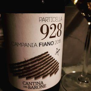 Fiano Particella 928 2018 Cantina del Barone
