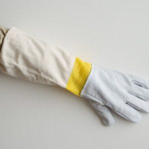 Včelárske rukavice kožené s vetraním