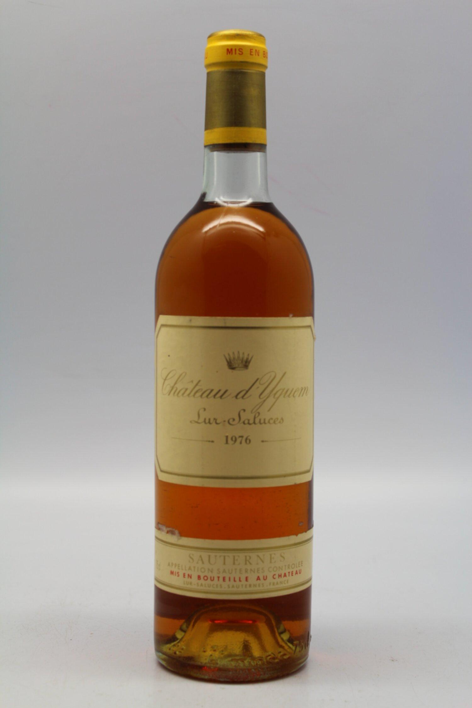 Yquem 1976 - VINS & MILLESIMES