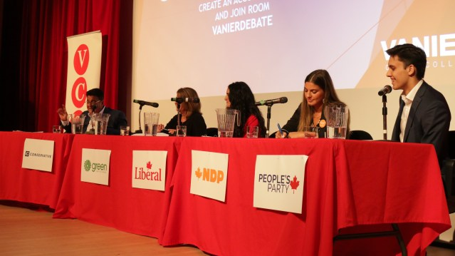 Election Debate at Vanier College: Their Plans on The Environment