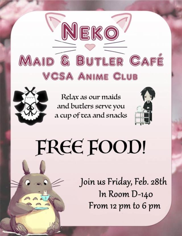 Cats and Cake at The Neko Maid and Butler Café