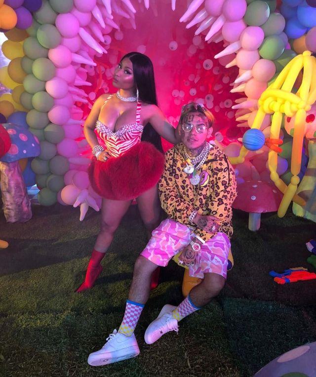 Did 6ix9ine Try to Reincarnate into Nick Minaj Baby