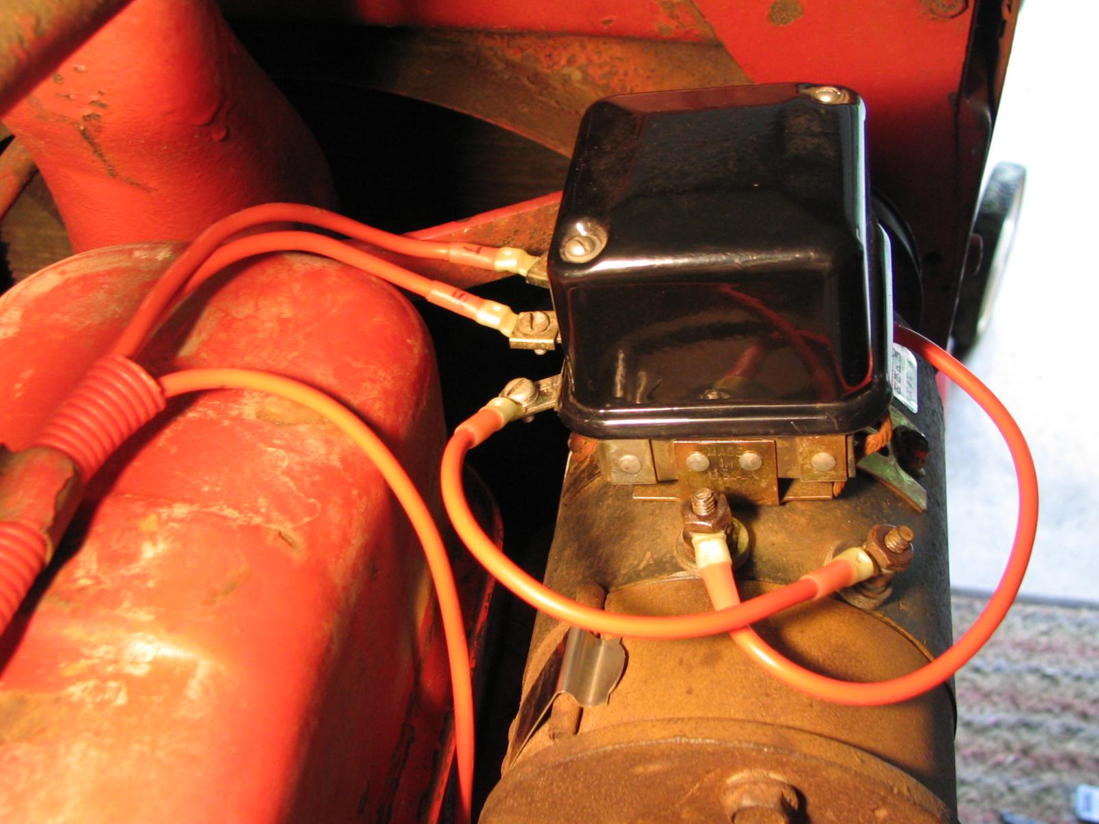 hight resolution of original regulator wiring rewired regulator