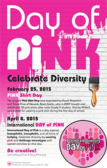 Pink Shirt Day/Day of Pink |