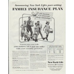 1962 Mutual Of New York Vintage Ad