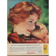 1960 clairol hair color ad