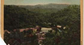 Vintage Postcard ofBabcock State Park in West Virginia