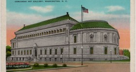 Vintage Postcard of the Corcoran Art Gallery