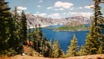 Crater Lake Vintage Postcard