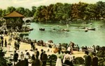 Vintage Postcard of Delaware Park in Buffalo, New York