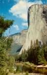 El Capitan Yosemite Vintage Postcard
