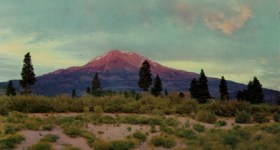 Vintage Postcard of Mount Shasta in California